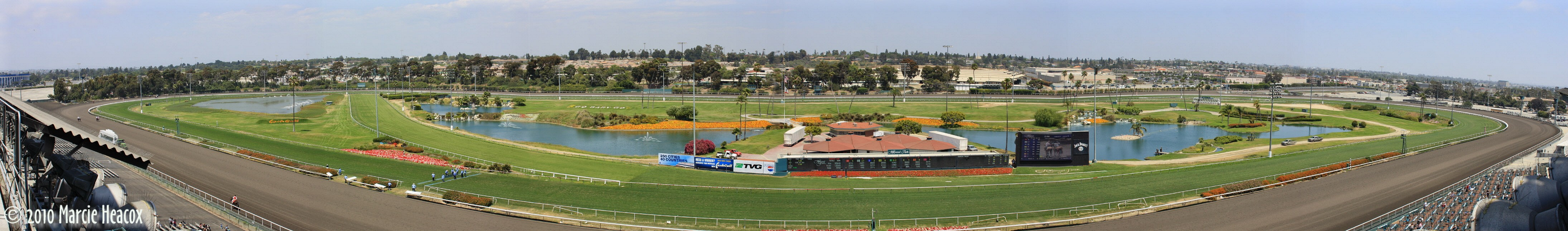 Announcer's View of Hollywood Park