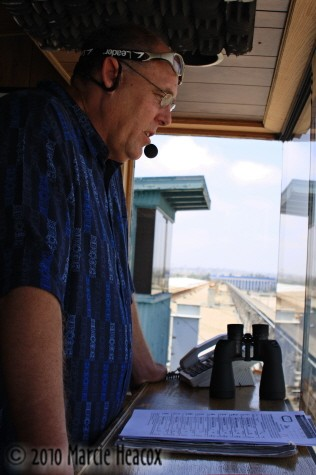 Track Announcer Vic Stauffer